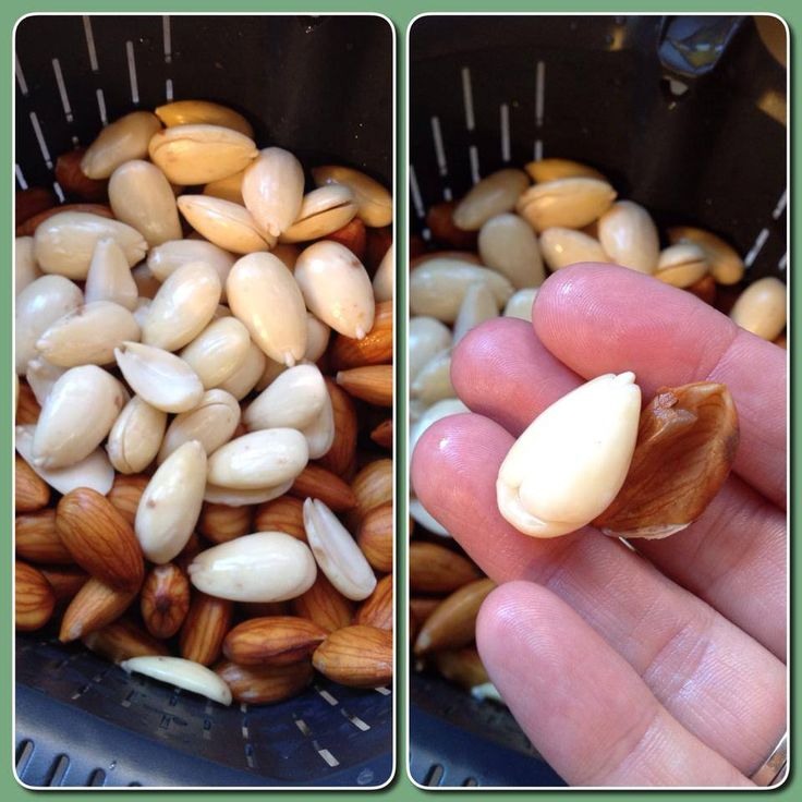 Blanching Almonds in the Thermomix