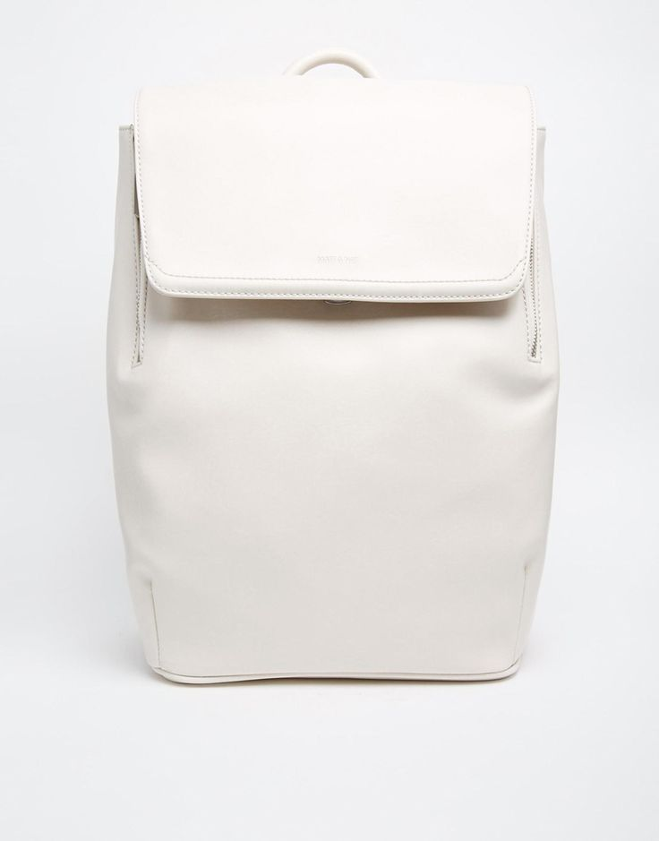 This very minimal white backpack will be the perfect bag for everyday. Good size and I love the super clean design. Find it here: http://asos.do/ItWCRB