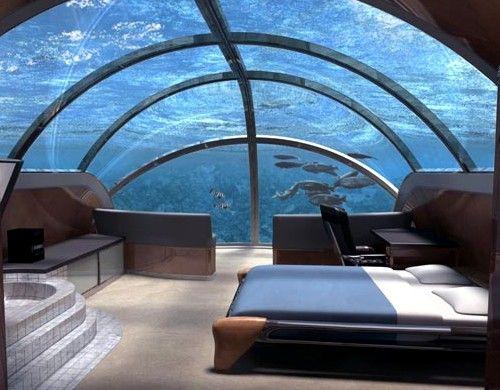 El Hotel Submarino en Cayo Largo, Florida - http://vivirenelmundo.com/el-hotel-submarino-en-cayo-largo-florida/3854 #CayoLargo, #Florida, #JulesUnderseaLodge