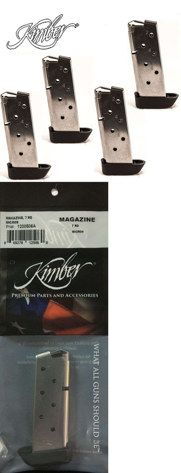 Magazines 177879: Kimber Factory ( Micro 9 ) 9Mm 7-Round Magazine W Extension (4-Pack) #1200506A -> BUY IT NOW ONLY: $98 on eBay!