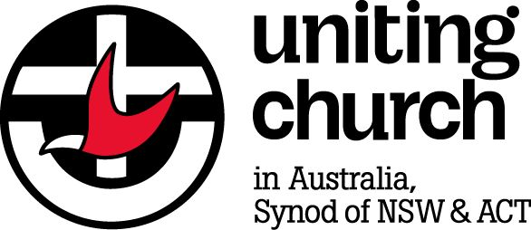 2 prong flame in a for of a dove - Uniting Church in Australia