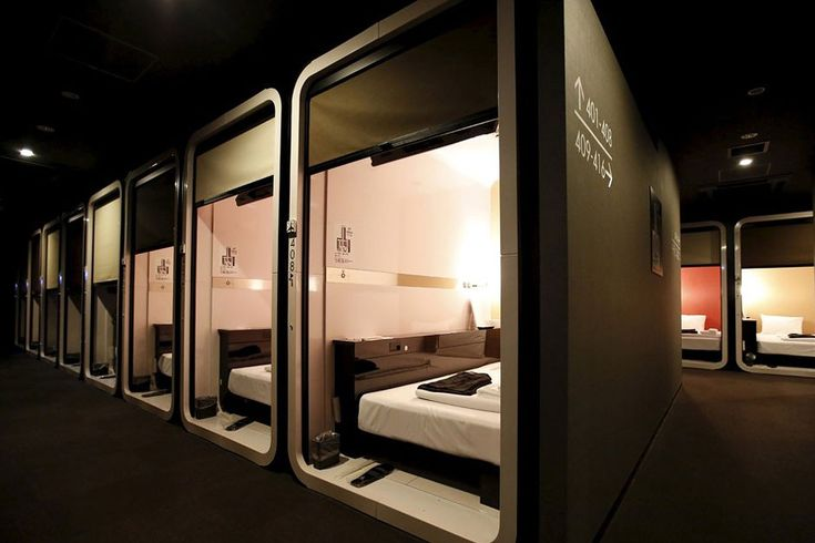 First Cabin Is a Luxurious Take on Japanese Capsule Hotels