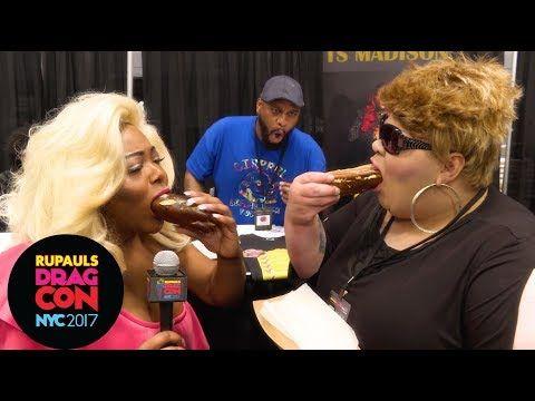 Stacy Layne Matthews & Ts Madison: Lemme Pick You Up at RuPaul's DragCon NYC 2017 - YouTube