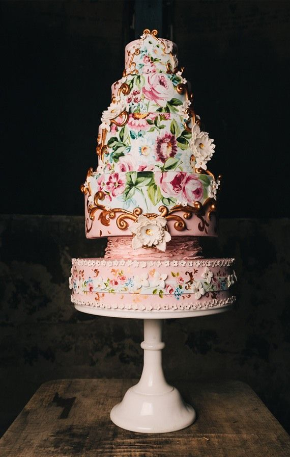 Featured Photography: Babb Photo, Featured Wedding Cake: Nevie-Pie Cakes