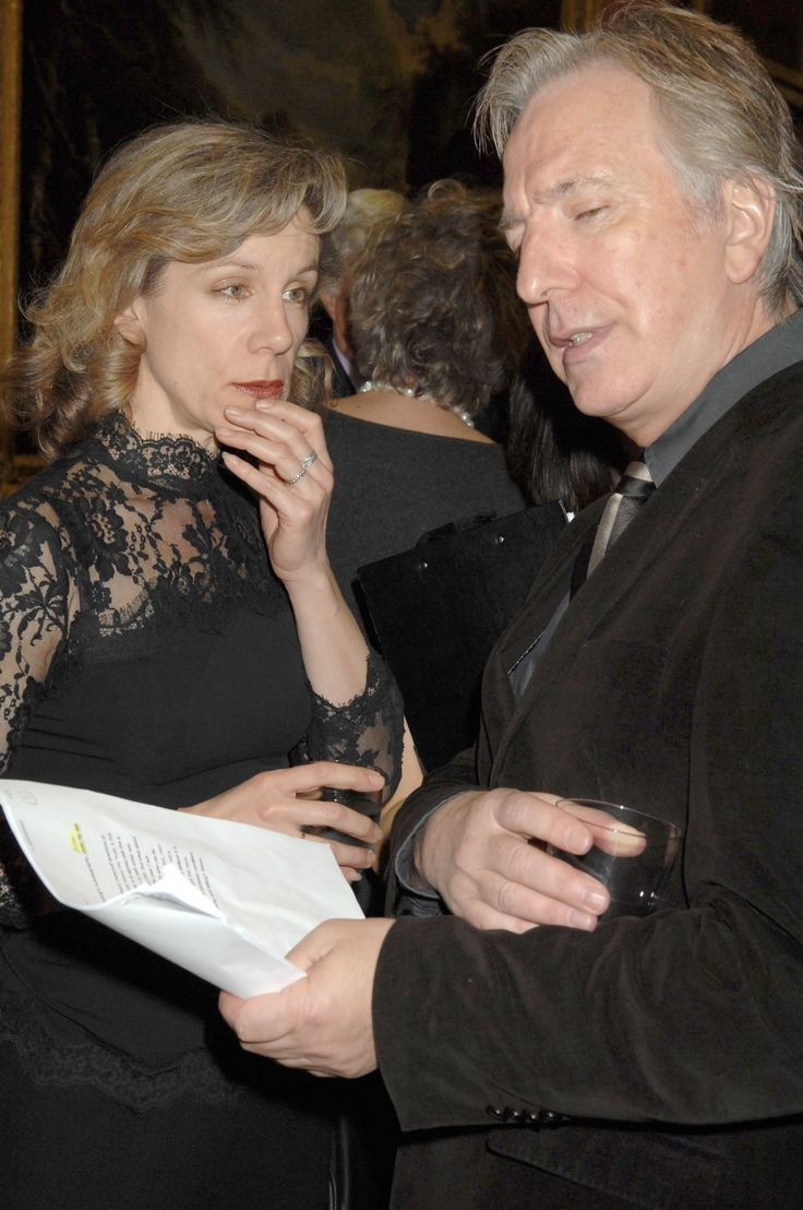 January 30, 2008 -  Alan with Juliet Stevenson at Doris Lessing - Harpercollins and English Pen Reception