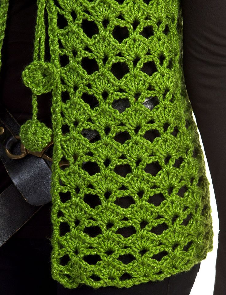Mary Kate Vest - Patterns   Yarnspirations