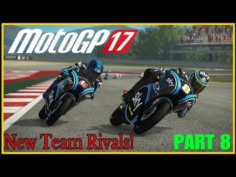 MotoGP 17 Gameplay Part 8 | NEW TEAM RIVALS! (Full Game) PS4 PRO #motogp17 - http://LIFEWAYSVILLAGE.COM/career-planning/motogp-17-gameplay-part-8-new-team-rivals-full-game-ps4-pro-motogp17/