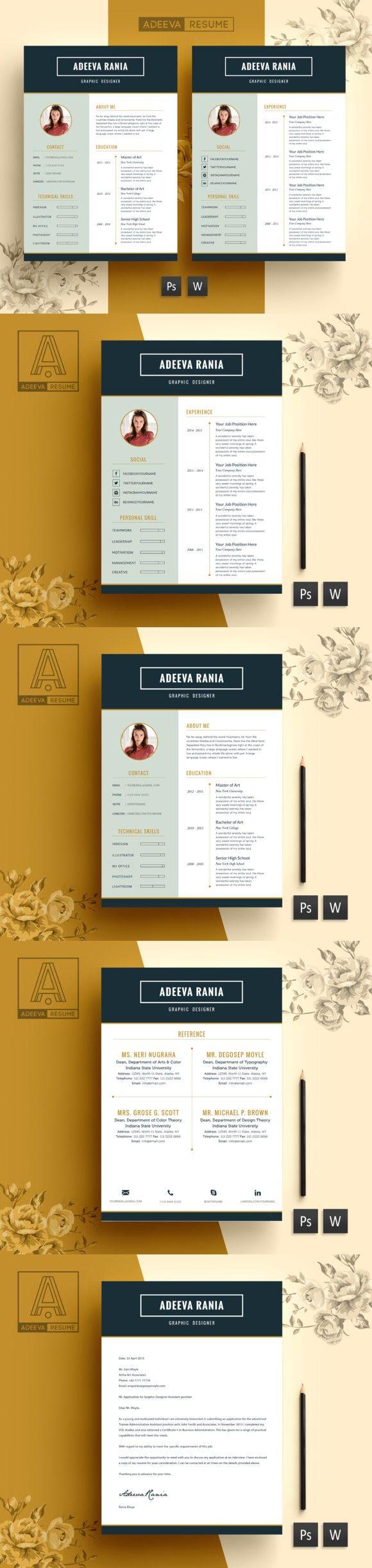 Professional Resume Template Rania Resume Templates 600