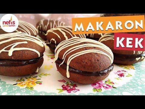 Makaron Kek (Whoopie Pie) Tarifi Videosu - Nefis Yemek Tarifleri
