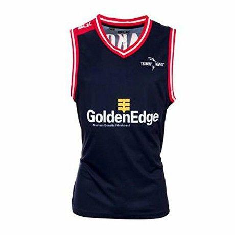 BLK tasman makos rugby training basketball vest-Medium