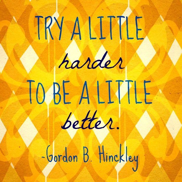 Harder better