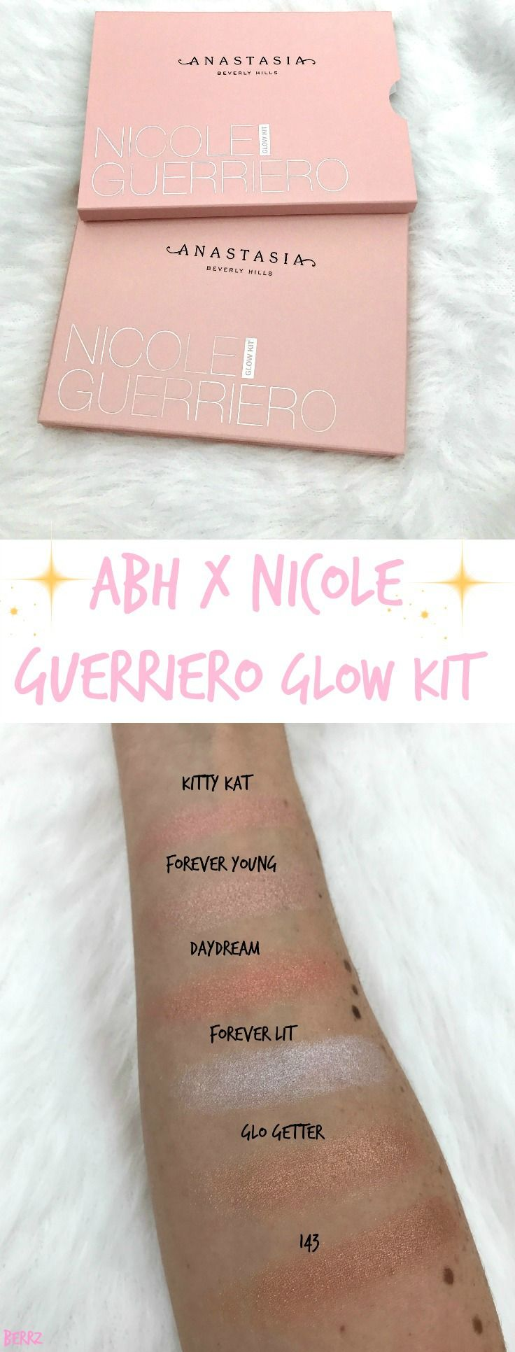 Nicole Guerriero X Anastasia Beverly Hills Glow Kit Review & Swatches >  Http