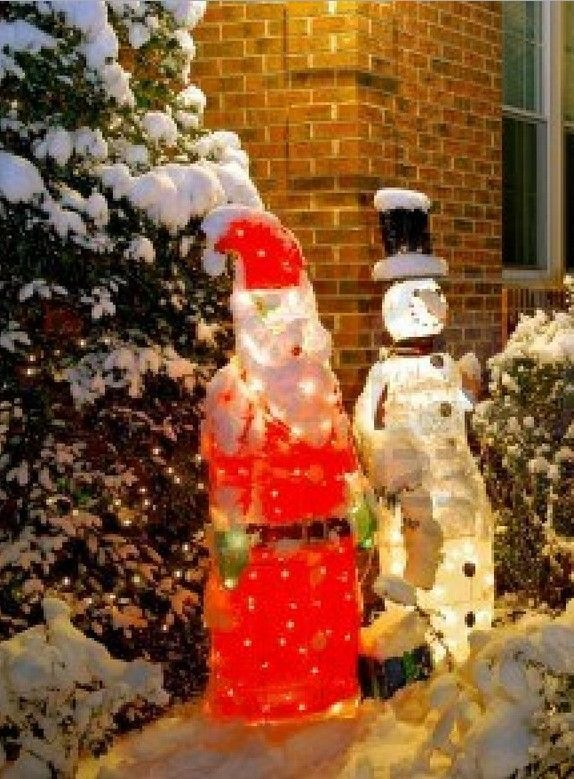 30 best images about 2013 outdoor christmas snowman decor for Home depot christmas decorations 2013