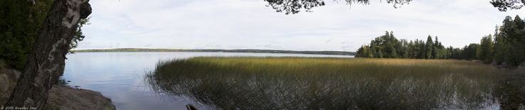 Panorama of lakes - null