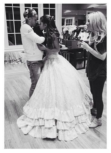 87 best ariana grande for Ariana grande wedding dress