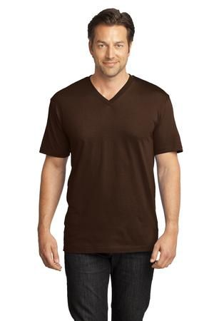 District Made™ Mens Perfect Weight V-Neck Tee . Achieve perfection in your look with this soft v-neck.  - Arizona Cap Company - (480) 661-0540 Custom Printed & Embroidered. Visit our website for the colors available and the price.