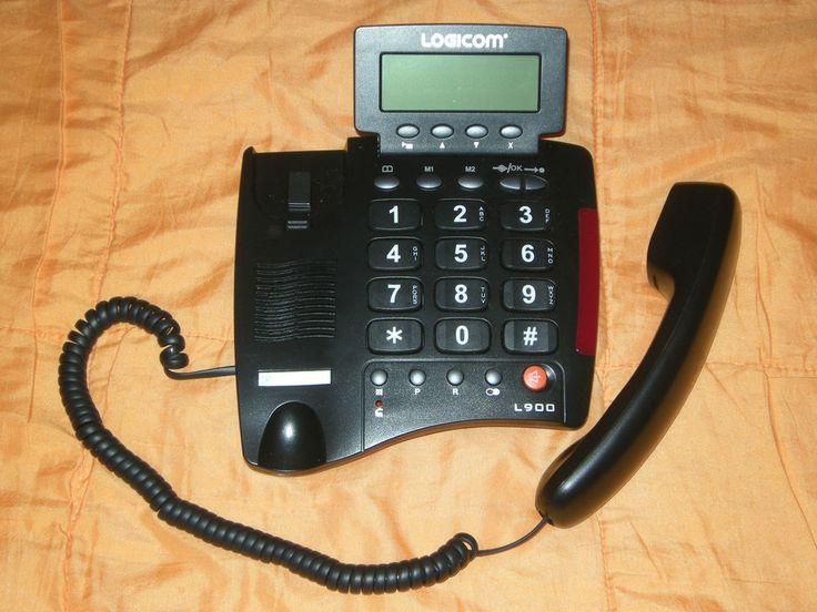 Logicom L900 Téléphone filaire. Prix sacrifié à 10€