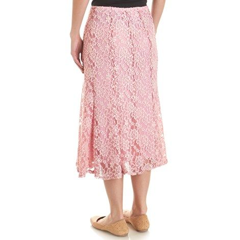 Mid-Length Lace Skirt