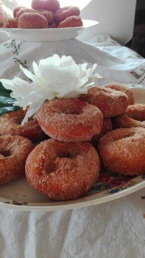 Suiker kaneel donuts