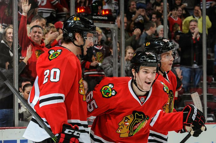 Nice to see Shaw on the score sheet My boys all 4 of them - hockey score sheet