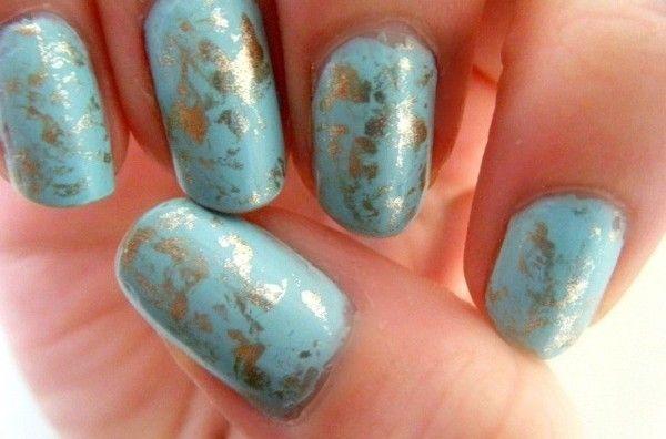 Saran Wrap Nails Tutorial | Nail Move.com