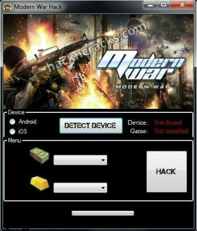 [Android] Modern War Hack Tool No Survey