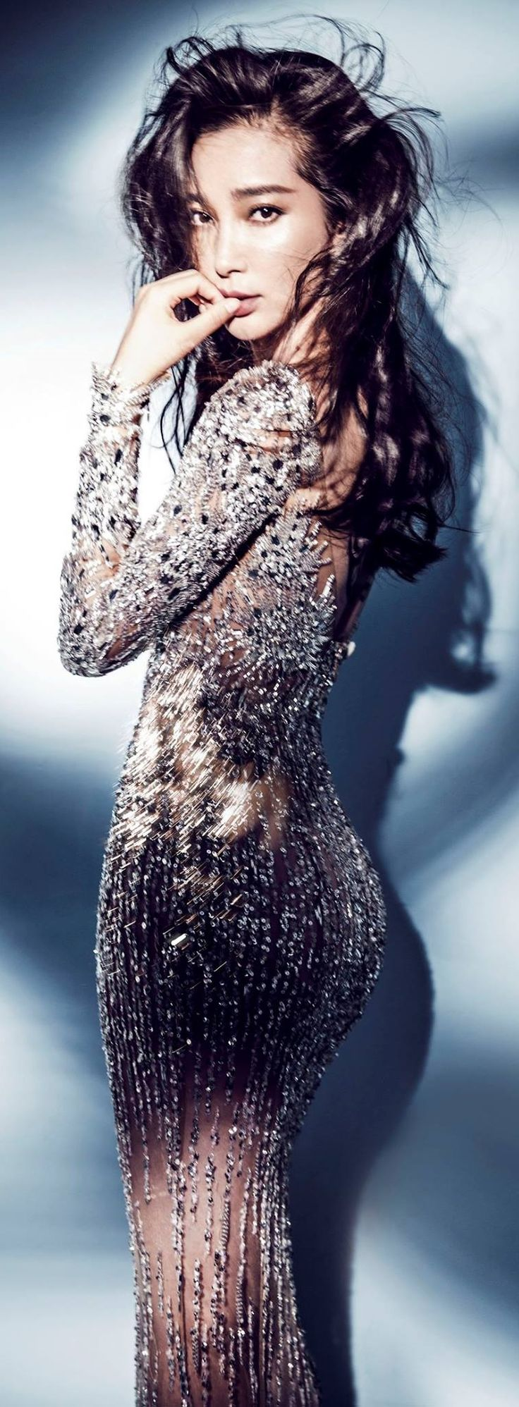 Li Bingbing in Zuhair Murad RTW Fall/Winter 2015-2016 for Marie Claire China July 2015