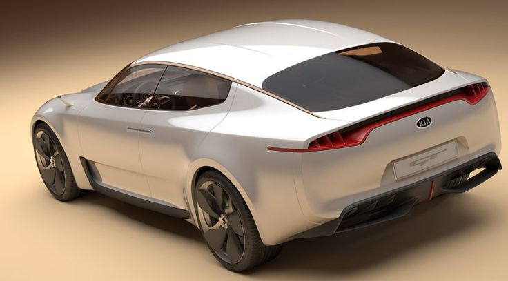 Kia GT concept (2011) at Frankfurt motor show by CAR Magazine