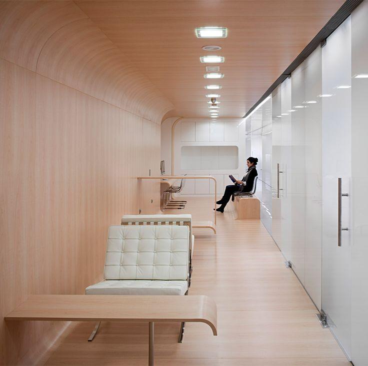 Incredible dental office waiting room, designed by estudio arquitectura hago.