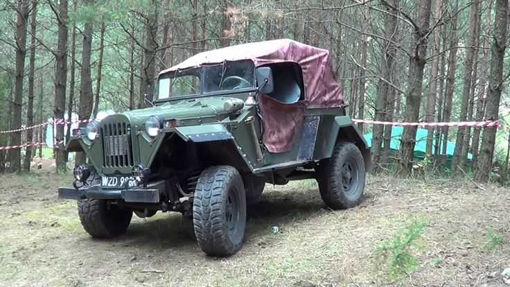 Military off-road car type