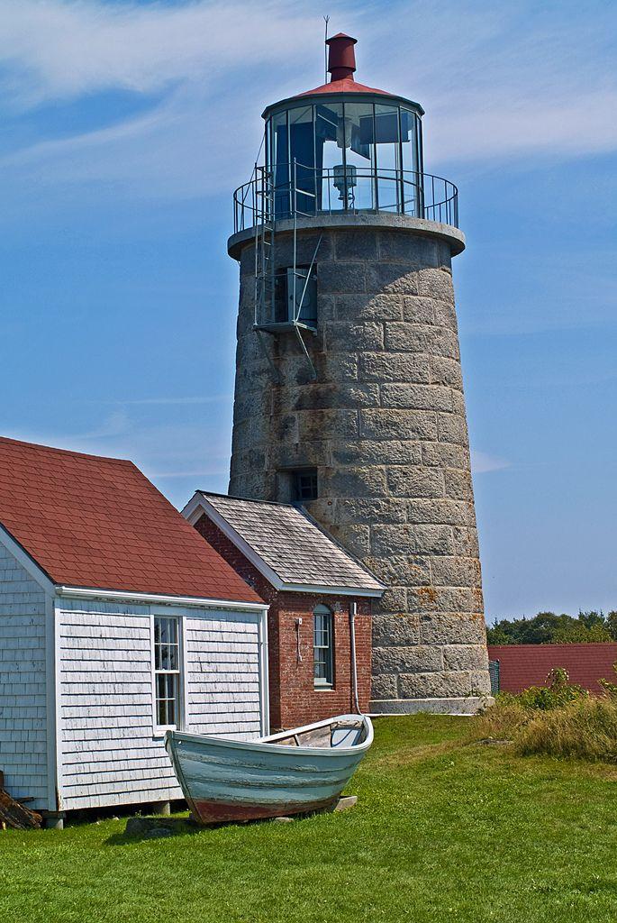 Monhegan Island lighthouse, Maine