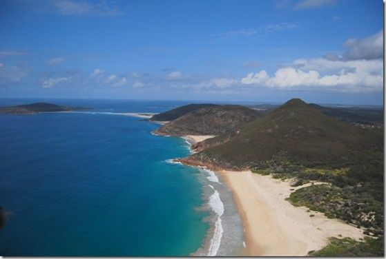 The Hunter Coast & Port Stephens areas of New South Wales