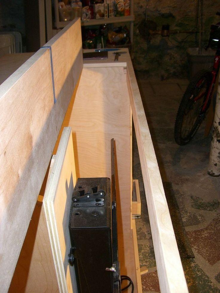 DIY TV Lift Cabinet
