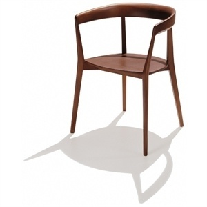CAROLA Chair With Armrests By Andreu World Design Lievore Altherr Molina