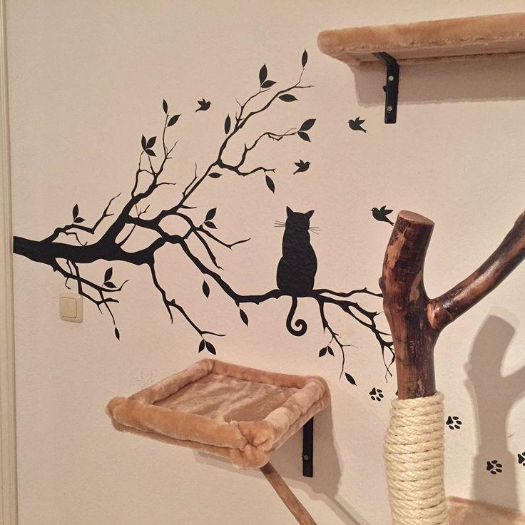 die besten 25 catwalk katzen ideen auf pinterest. Black Bedroom Furniture Sets. Home Design Ideas