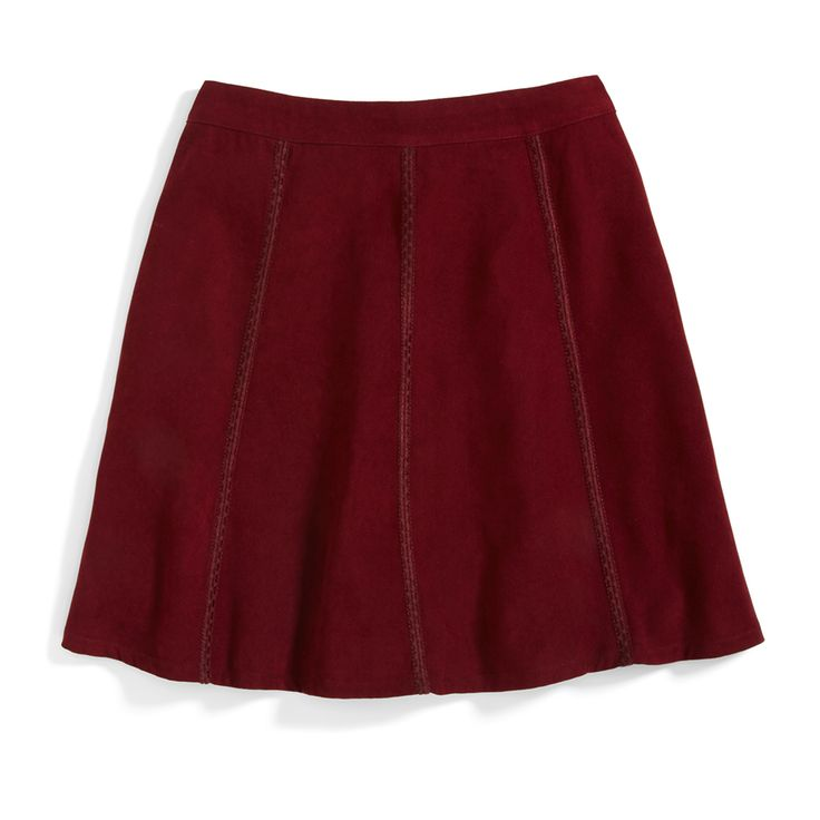 Stitch Fix Monthly Must-Haves: Conference room to cocktail party, add a textured skater skirt to your holiday wardrobe.
