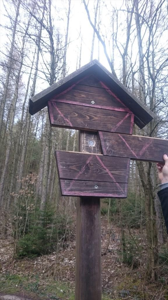 Now this is a sneaky geocache hide. It would be hard for muggles to discover this one.