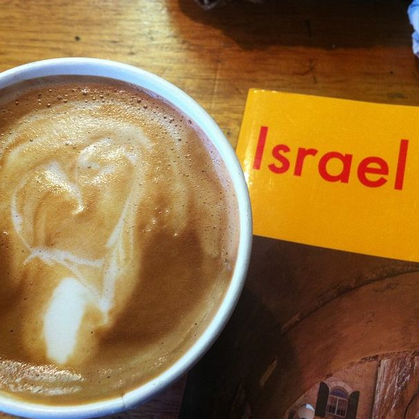Israeli Cafe Culture #deliciousisrael