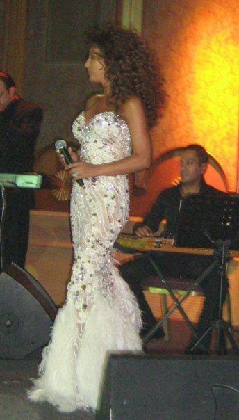 Najwa Karam by TONY YAACOUB #fashion #dress #design #celebrities #lebanon #lebanese #gown
