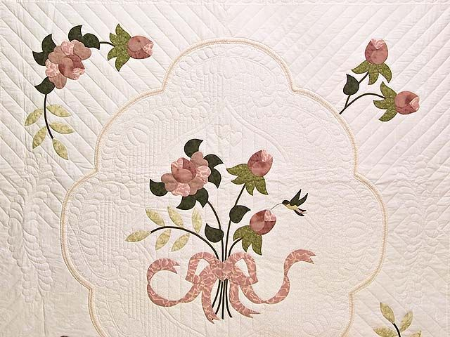 Dusty Rose Lancaster Treasures Quilt Photo 3