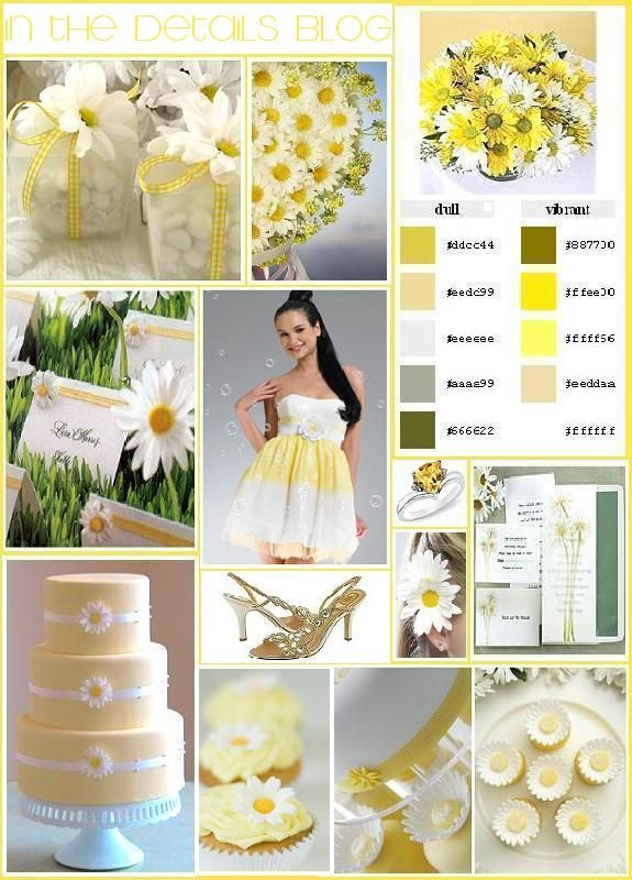 Google Image Result for http://static.w-weddingflowers.com/wwflower/2010/10/daisy-wedding-bouquets-3.jpg: Daisies Wedding Theme, Idea, Wedding Theme Daisies, Partyy Theme, Daisies Wedding Flowers, Daisies Theme, Beautiful Flowers, Theme Wedding, Names Cards