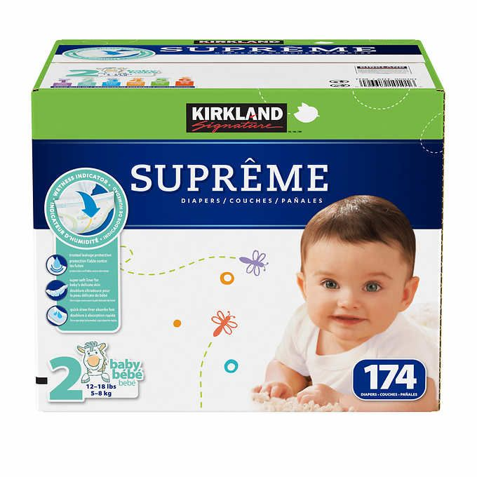 NEW Kirkland Signature Supreme Diapers PICK SIZE