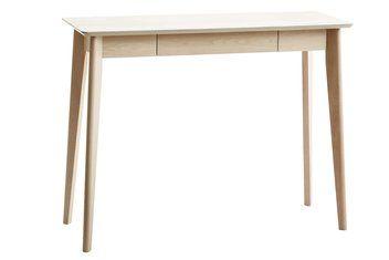 Konzol asztal KALBY világos tölgy