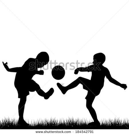silhouettes of children - Google Search