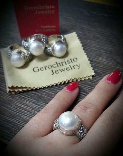 #Gerochristojewelry  Eva collection