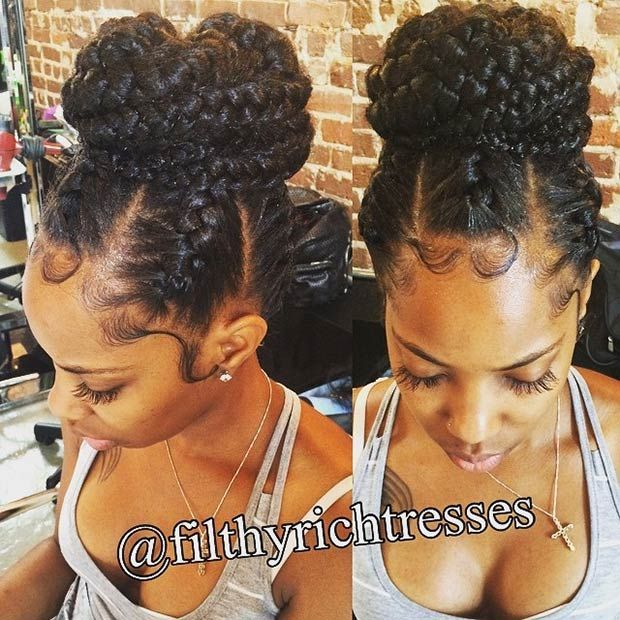 Strange 1000 Ideas About Hairstyles For Black Women On Pinterest Short Hairstyles For Black Women Fulllsitofus
