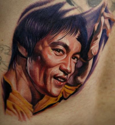 100 best images about bruce lee movies on pinterest for Best realism tattoo artist near me