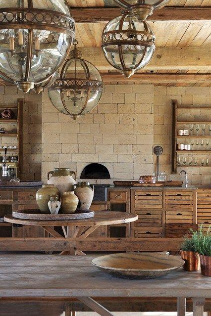 Here At Segera His Eco Retreat In Kenya The Kitchen Paddock House Provides An Elegant Communal