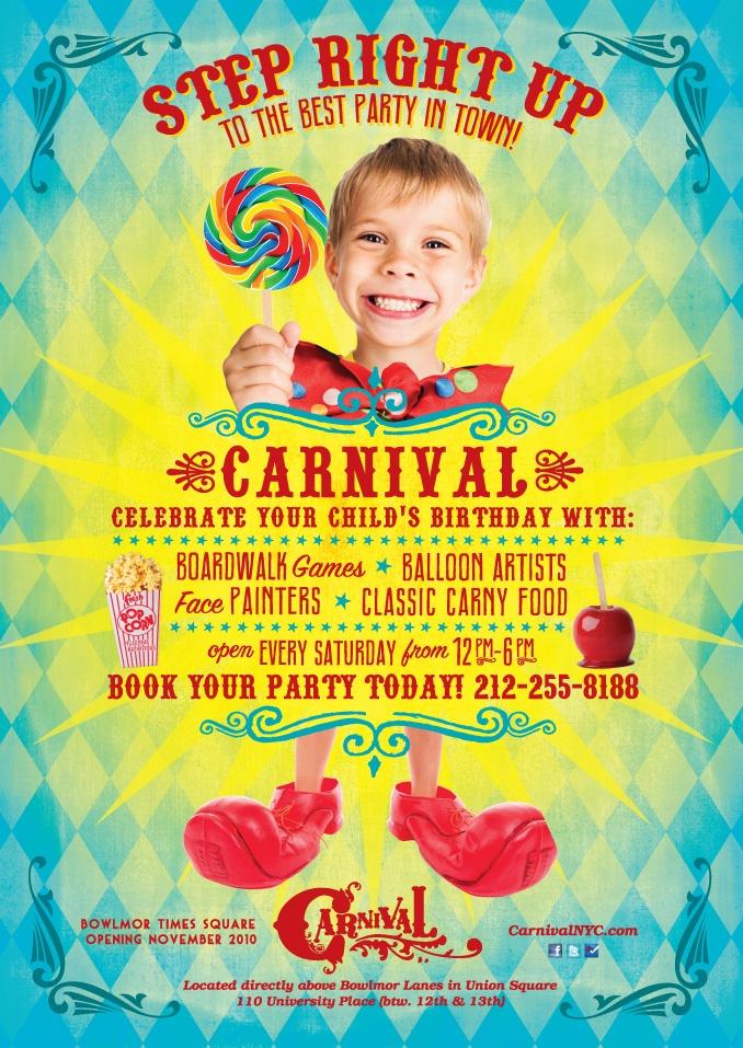 Circus Birthday Party Invitations for great invitation design