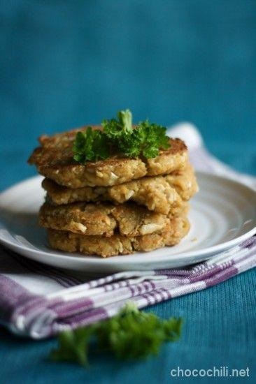 Tofu-cashewpähkinäpihvit